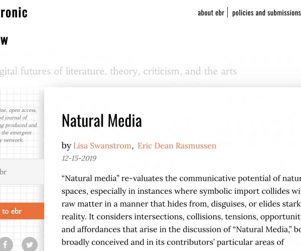 Natural Media